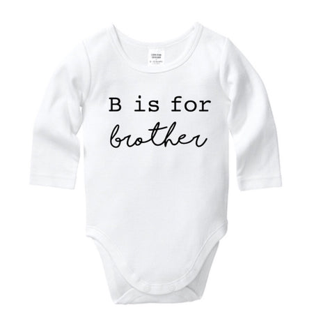B is for Brother Onesie