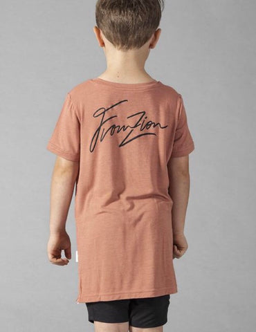 From Zion SS Pocket Tee - Ochre