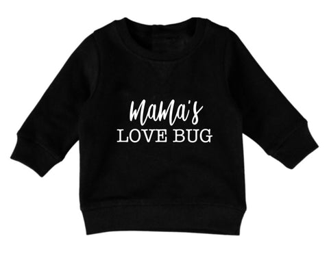 Mama's Love Bug Jumper - Black