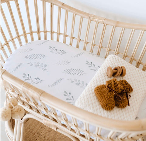 Wild Fern Bassinet Sheet | Change Cover