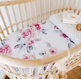 Lilac Skies Bassinet Sheet | Change Cover