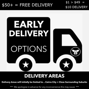 WEDNESDAY EARLY DELIVERY -PLEASE CLICK ON THIS ICON AND SELECT YOUR DELIVERY PREFERENCE FROM THE AVAILABE OPTIONS AND ADD TO YOUR CART BEFORE YOU CHECKOUT >>> DELIVERY FEES ( IF ANY ) ARE AUTOMATICALLY PROCESSED AT CHECKOUT.