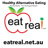 EAT REAL -  *** FRESH *** ( KETO - Pulled Greek Lamb Complete Meal )( 420+gms )