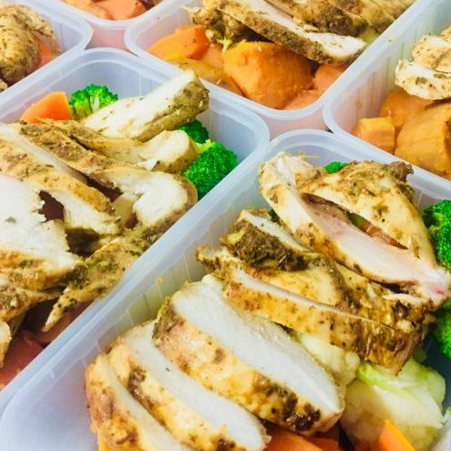 EAT REAL - ( Marinated Chicken Complete Meal)(.. FROZEN ..)( 420+gms )
