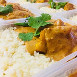 EAT REAL -  *** FRESH *** ( Butter Chicken with Basmati Rice )( 420+gms )