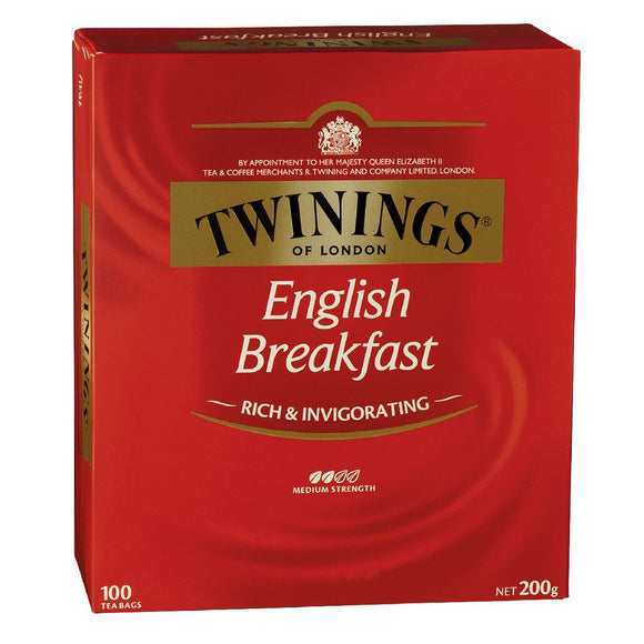 (C&T.00011)-TEA ... TEA BAGS ... TWININGS ENGLISH BREAKFAST ..... (100 PACK)