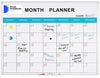 delux perpetual month planner