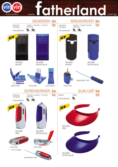 SPORT ACCESSORIES VINVIN CREATION CATALOG 115