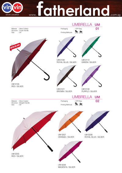 UMBRELLA VINVIN CREATION CATALOG 117