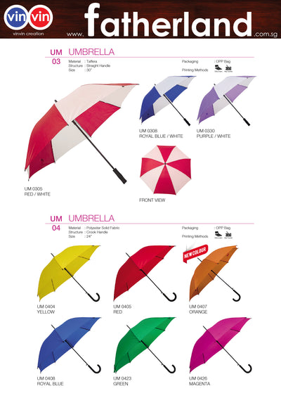 UMBRELLA VINVIN CREATION CATALOG 118