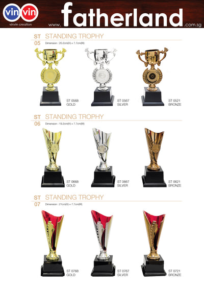 STANDING TROPHY VINVIN CREATION CATALOG 128