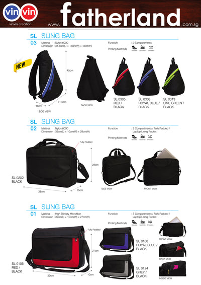 SLING BAG VINVIN CREATION CATALOG 14