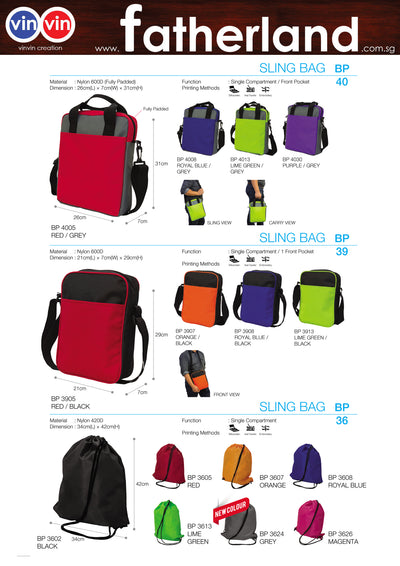 SLING BAG VINVIN CREATION CATALOG 15