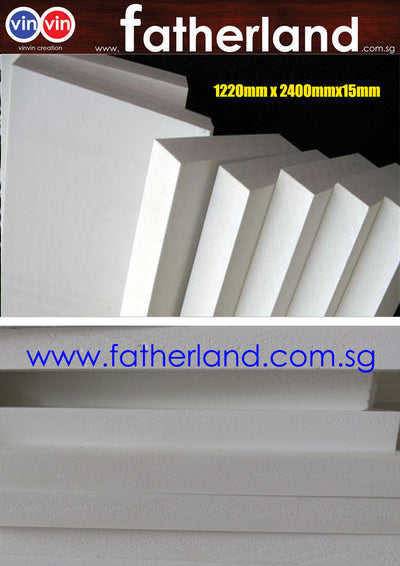 PVC HIGH DENSITY 15MM SHEET