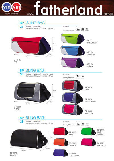 SLING BAG VINVIN CREATION CATALOG 16