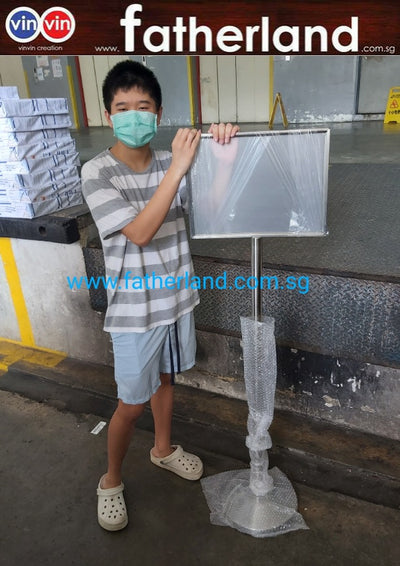 Q-Sign Stand (Landscape) - A3 Size ( Model : Vin-A3-P2  )