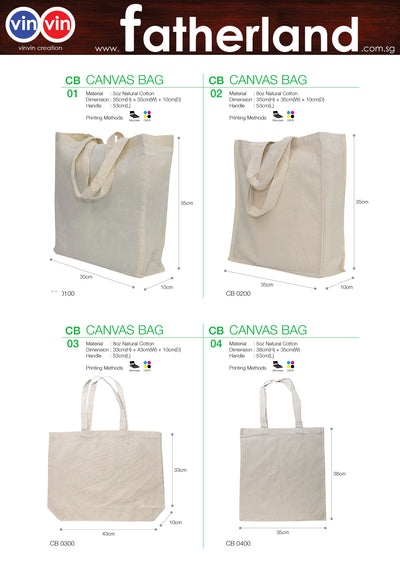 CANVAS BAG VINVIN CREATION CATALOG 48