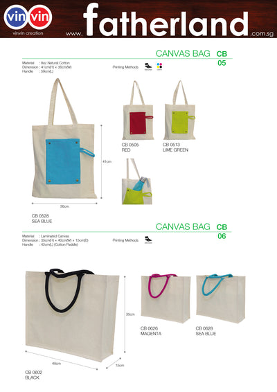 CANVAS BAG VINVIN CREATION CATALOG 49