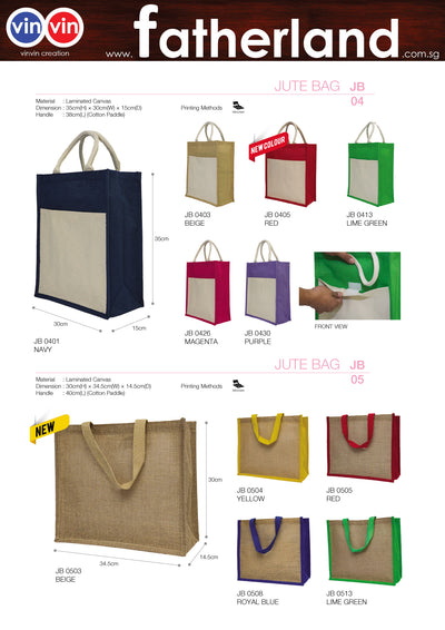 JUTE BAG VINVIN CREATION CATALOG 51