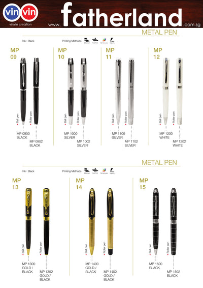 METAL PEN VINVIN CREATION CATALOG 61