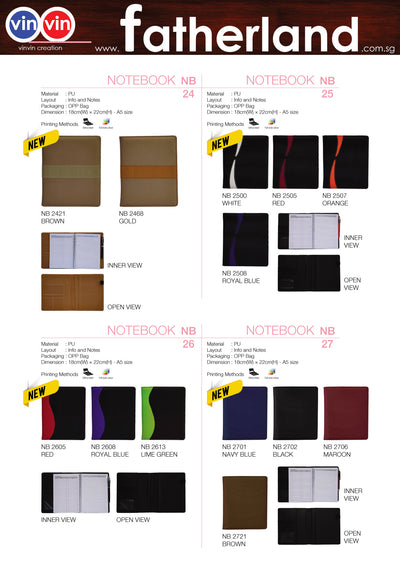 NOTEBOOK VINVIN CREATION CATALOG 69