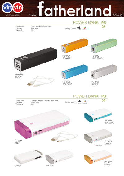 POWER BANK VINVIN CREATION CATALOG 73