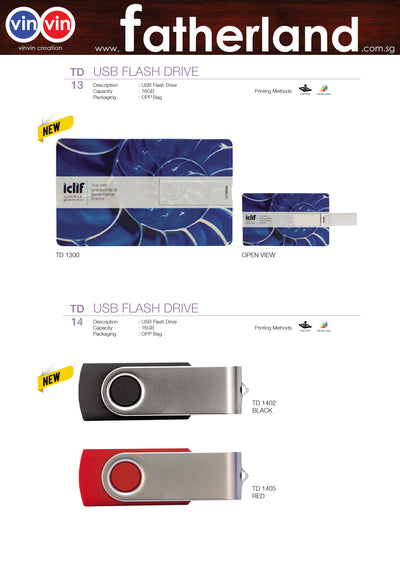 USB FLASH DRIVE VINVIN CREATION CATALOG 86