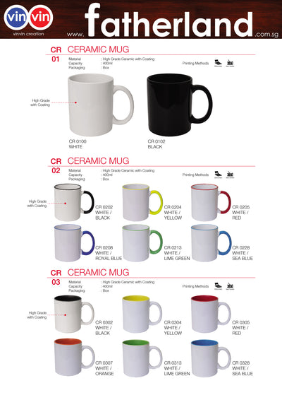CERAMIC MUG VINVIN CREATION CATALOG 96