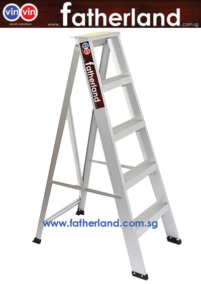 Aluminium A Ladder Light Duty 100kg