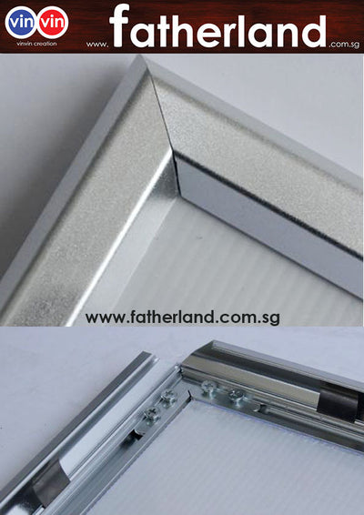 ALUMINIUM SNAP FRAME WITH ANGLE SUPPORT