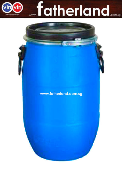 Blue Plastic Drum 50 Litre