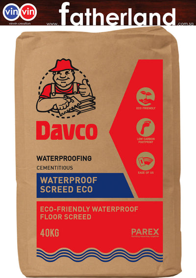 Waterproof Floor Screed 40kg (DAVCO)