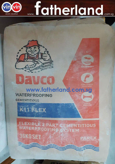 DAVCO K11 FLEX (36kg set) Grey