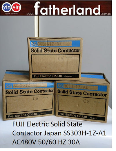 FUJI Electric Solid State Contactor Japan SS303H-1Z-A1 AC480V 50/60 HZ 30A