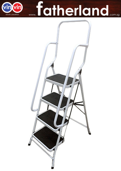Household Steel Ladder - GAP Ladder With Handrail 4 Steps