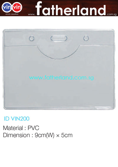 EXHIBITION ID HOLDER LANDSCAPE VIN200
