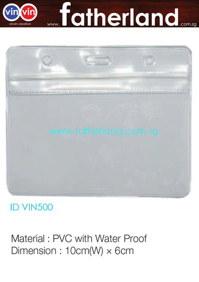 EXHIBITION ID HOLDER LANDSCAPE VIN500