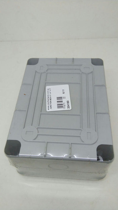Junction box 6 x 4 x 3 inches ( IP56)