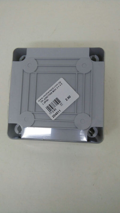 Junction box 4 x 4 x 2 inches ( IP56)