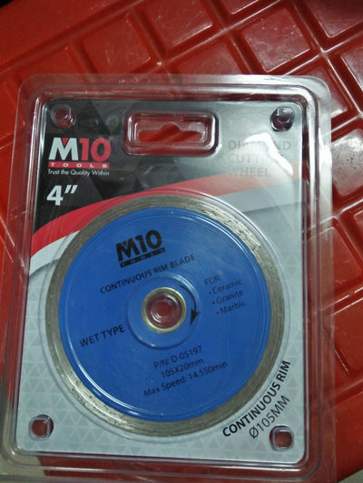 "M10 DIAMOND WHEEL 4"" ( WET )"
