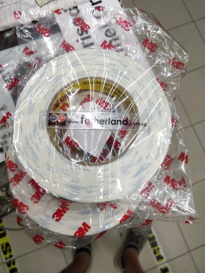 3M 1600 PE FOAM TAPE 25MM X 8M ( WHITE )