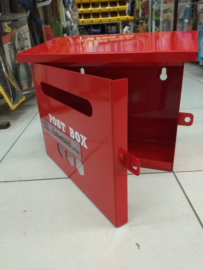 RED POST BOX SIZE 220 X 100 X 200MM