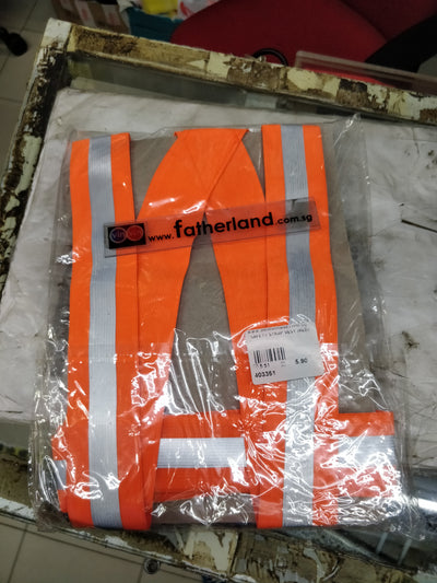 SAFETY STRAP VEST (RED)