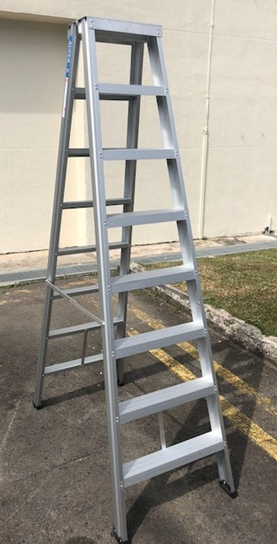 8 steps Two Way Alum. A-Shape Ladder