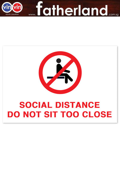 SOCIAL DISTANCING SEAT MARKER