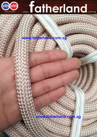 POLYAMIDE ROPE 16MM X 200M ( NATURAL BROWN SAFETY SERIES GRADE )