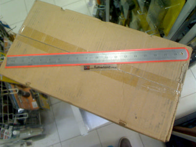 "18"" S/Steel Ruler ( STAINLESS STEEL )"