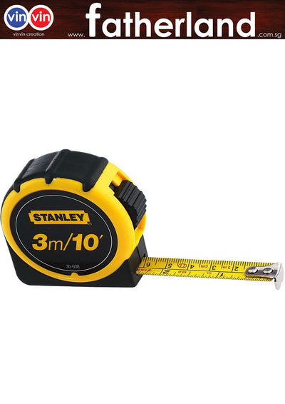 STANLEY 30-608L 3M MEASURING TAPE