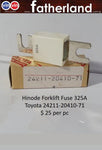 Forklift Fuse 325A Toyota 24211-20410-71