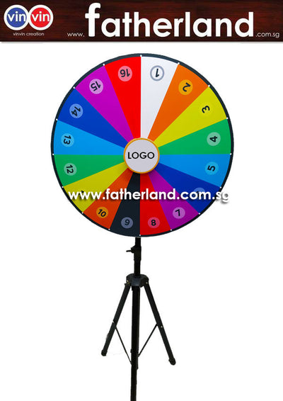 WHEEL OF FORTUNE 1200MM GIANT  WHEEL PORTABLE 2019 SERIES
